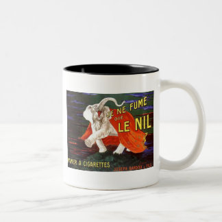 Je Ne Fume Que Le Nil Elephant Ad Coffee Mug