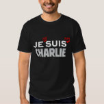 Je ne suis pas Charlie Tshirt