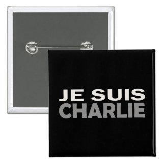 Je Suis Charlie 15 Cm Square Badge