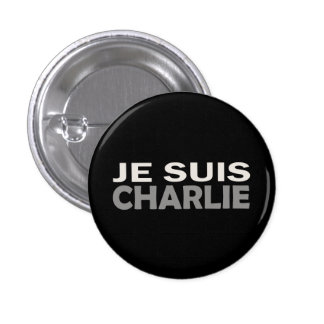 Je Suis Charlie 3 Cm Round Badge