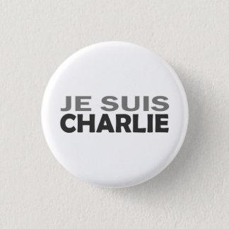 Je Suis Charlie 3 Cm Round Badge