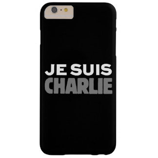 Je Suis Charlie - I am Charlie Black Barely There iPhone 6 Plus Case