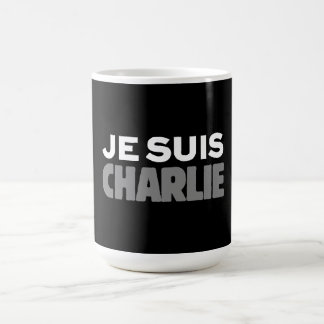 Je Suis Charlie - I am Charlie Black Coffee Mug