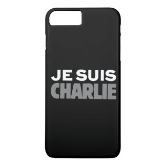 Je Suis Charlie - I am Charlie Black iPhone 7 Plus Case