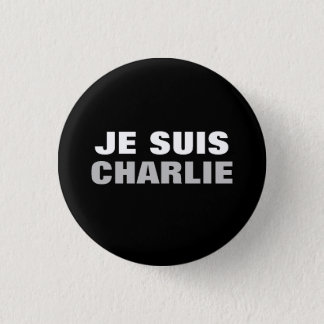 Je Suis Charlie OS 3 Cm Round Badge