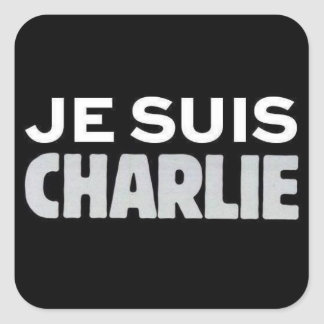 Je Suis Charlie Square Sticker