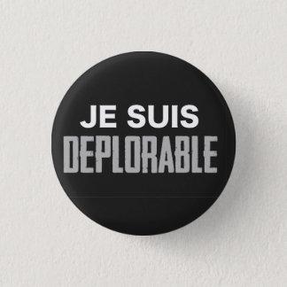 Je Suis Deplorable Button (round)