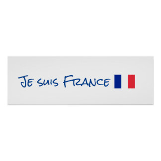Je suis France Poster