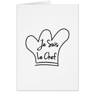 Je Suis Le Chef Card