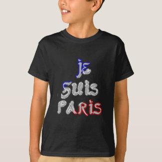 Je Suis Paris I love Paris Shirt