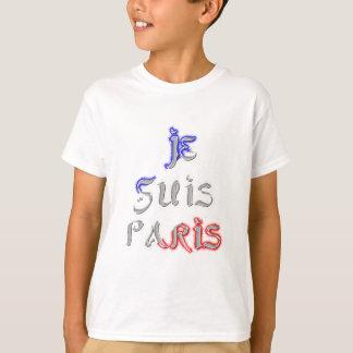 Je Suis Paris I love Paris Tees