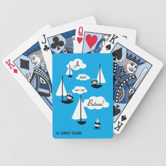 Je suis sur un Bateau! Deck Of Cards