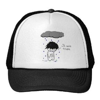 'Je suis triste' Hat