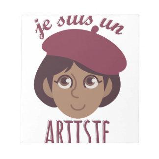 Je Susi Un Artiste Notepads