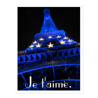 Je t aime post cards