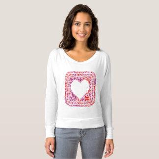 "'Je t'aime' (""I love you"" design) heart apparel T-Shirt"
