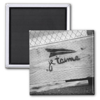 Je T'aime (I love you) Magnet