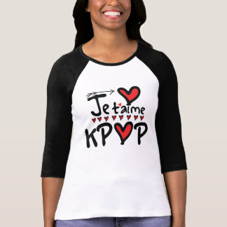 JE T'AIME KPOP Women's Raglan T-Shirt