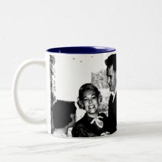 Jean and Charles Two-Tone Coffee Mug