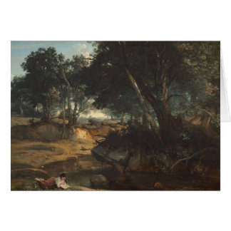 Jean-Baptiste-Camille Corot - Forest of Card