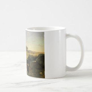 Jean-Baptiste-Camille Corot - Hagar Coffee Mug