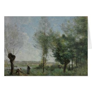 Jean-Baptiste-Camille Corot - Souvenir of Coubron Card