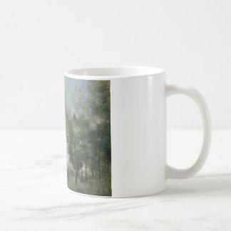 Jean-Baptiste-Camille Corot - Souvenir of Coubron Coffee Mug