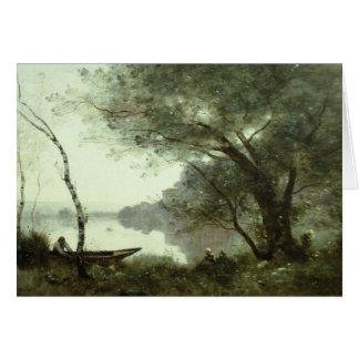 Jean-Baptiste-Camille Corot - The Boatman Card