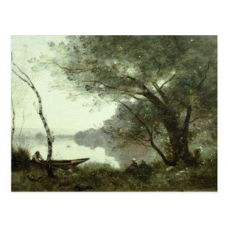Jean-Baptiste-Camille Corot - The Boatman Postcard