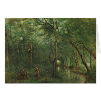 Jean-Baptiste-Camille Corot - The Eel Gatherers Card