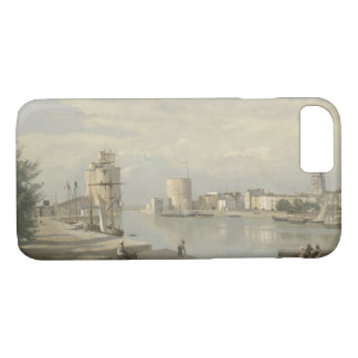 Jean-Baptiste-Camille Corot - The Harbor iPhone 8/7 Case