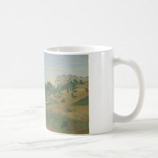 Jean-Baptiste-Camille Corot - View of Olevano Coffee Mug