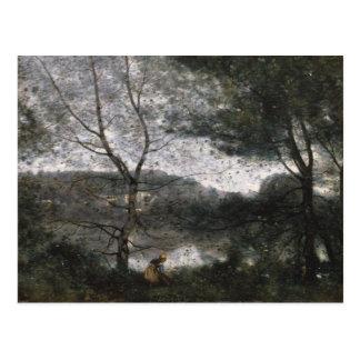 Jean-Baptiste-Camille Corot - Ville-d'Avray Postcard