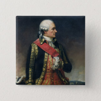 Jean-Baptiste de Vimeur  Count of Rochambeau 15 Cm Square Badge