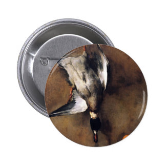 Jean Chardin:Green Neck Duck with a Seville Orange Button
