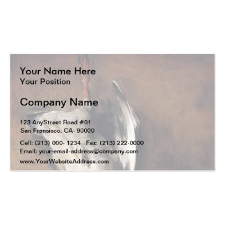 Jean Chardin Green Neck Duck with a Seville Orange Business Card Templates