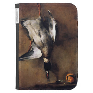 Jean Chardin:Green Neck Duck with a Seville Orange Kindle 3 Case