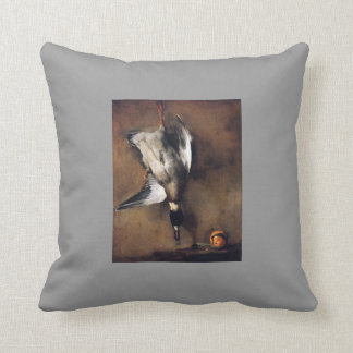 Jean Chardin Green Neck Duck with a Seville Orange Pillows
