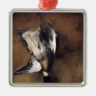 Jean Chardin:Green Neck Duck with a Seville Orange Christmas Tree Ornaments