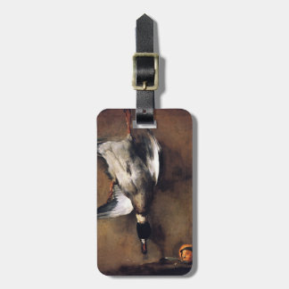 Jean Chardin Green Neck Duck with a Seville Orange Bag Tags