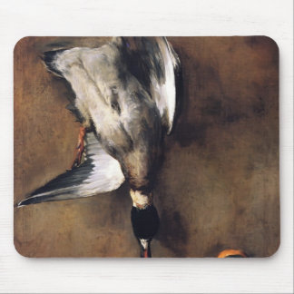 Jean Chardin Green Neck Duck with a Seville Orange Mouse Pads