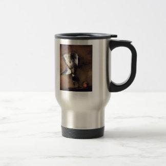 Jean Chardin:Green Neck Duck with a Seville Orange Stainless Steel Travel Mug