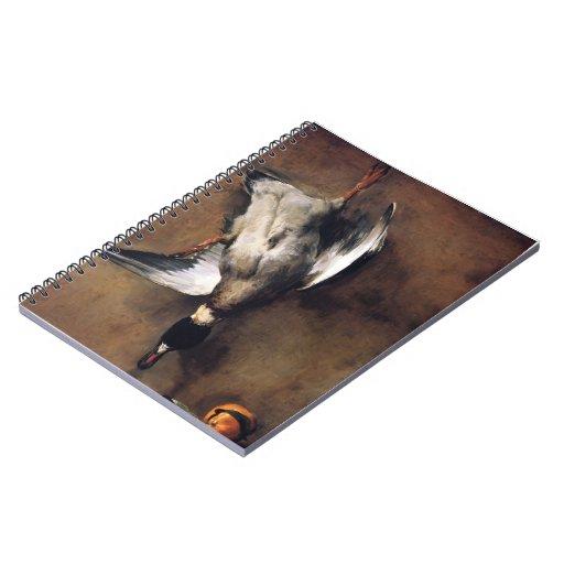 Jean Chardin:Green Neck Duck with a Seville Orange Journals