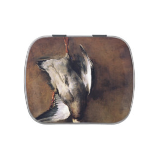 Jean Chardin:Green Neck Duck with a Seville Orange Candy Tins