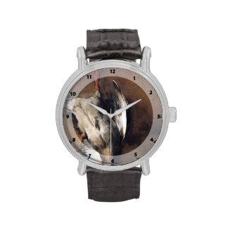 Jean Chardin:Green Neck Duck with a Seville Orange Wristwatch