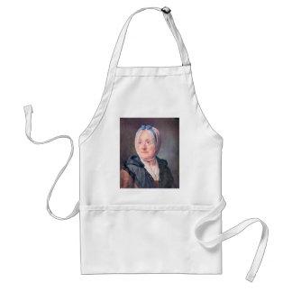 Jean Chardin - Portrait of Mrs Chardin Apron