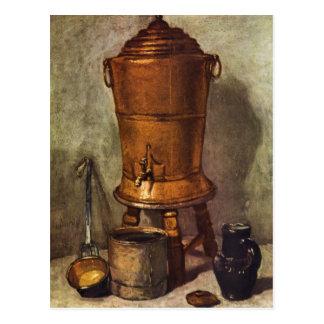 Jean Chardin - The water tank Post Card