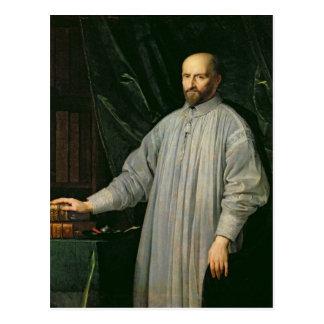 Jean Duvergier de Hauranne  Abbot of Postcard