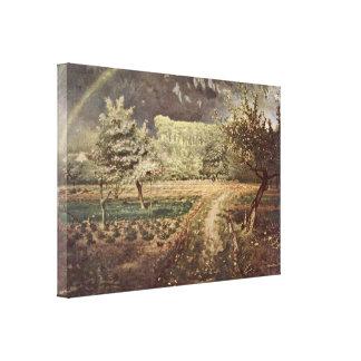 Jean-Francois Millet - Spring Stretched Canvas Prints