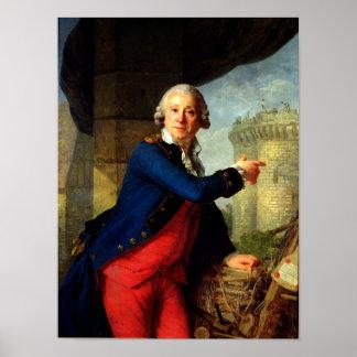 Jean-Henri  Chevalier de Latude, 1789 Poster